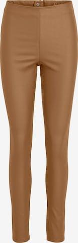VILA Leggings 'COMMIT' in Bruin