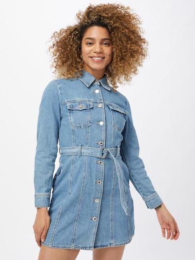 Tally Weijl Košulja haljina u plavi traper, Prikaz modela