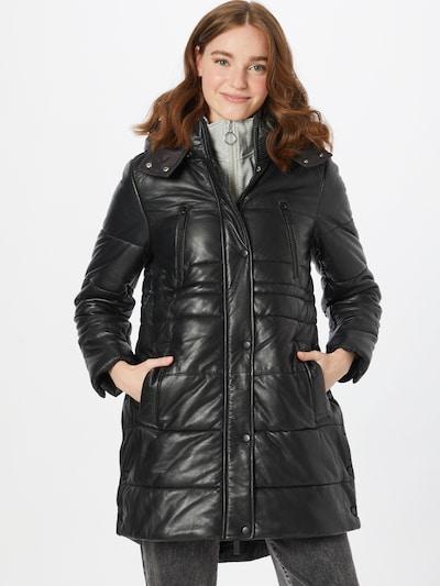 OAKWOOD Wintermantel 'BLITZ' in schwarz, Modelansicht