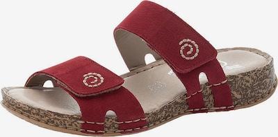 RIEKER Pantofle - karmínově červené, Produkt