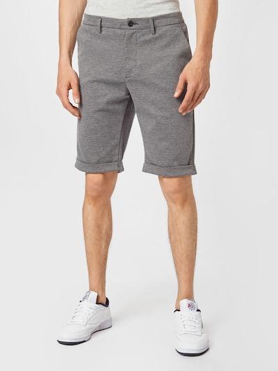 REPLAY Hose in grau / schwarz, Modelansicht