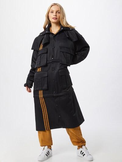 Cappotto di mezza stagione 'IVP 4ALL CV JKT' ADIDAS ORIGINALS di colore arancione chiaro / nero, Visualizzazione modelli