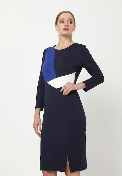 Madam-T Kleid 'LAIMA' in blau, Modelansicht
