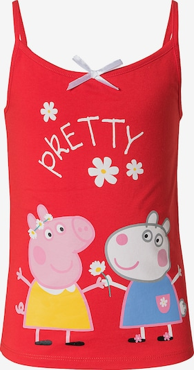 Peppa Pig Top in mischfarben / rot, Produktansicht