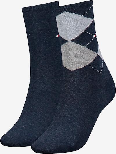 TOMMY HILFIGER Socken in navy / graumeliert, Produktansicht