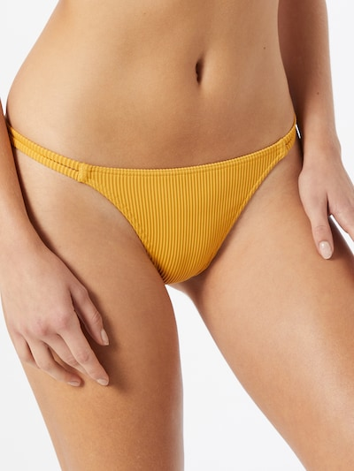 ROXY Bikinihose 'MIND OF FREEDOM' in goldgelb, Modelansicht