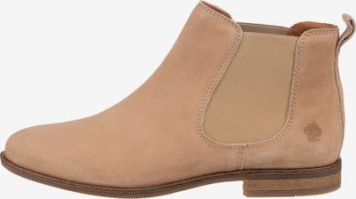 Apple of Eden Chelsea Boots in beige, Produktansicht