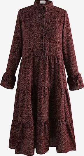 Noella Kleid in dunkelrot / schwarz, Produktansicht