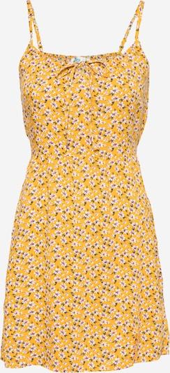 HOLLISTER Kleid in gelb / grün / weiß, Produktansicht