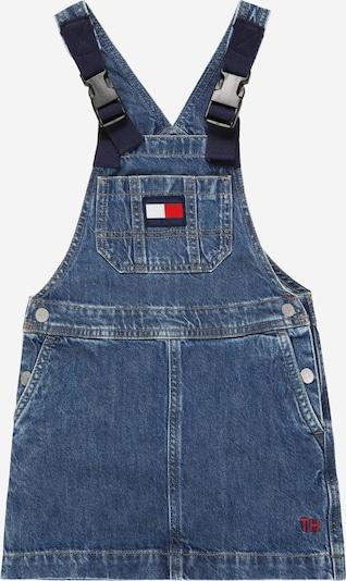 TOMMY HILFIGER Sukňa - modrá denim / ohnivo červená / biela, Produkt