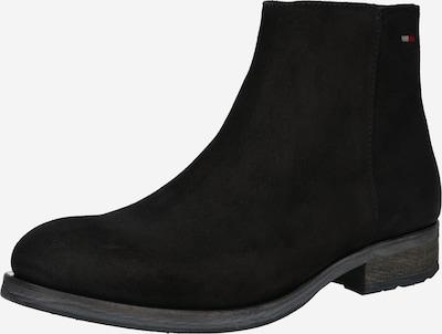 Botine Tommy Jeans pe negru, Vizualizare produs