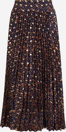 Y.A.S (Tall) Sukně 'SKYRA' - tmavě modrá / hořčicová, Produkt