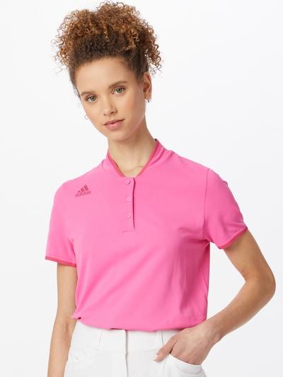 adidas Golf Sportshirt in pink: Frontalansicht