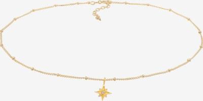 ELLI Halskette Choker, Sterne in gold, Produktansicht
