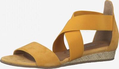 TAMARIS Sandale in honig, Produktansicht