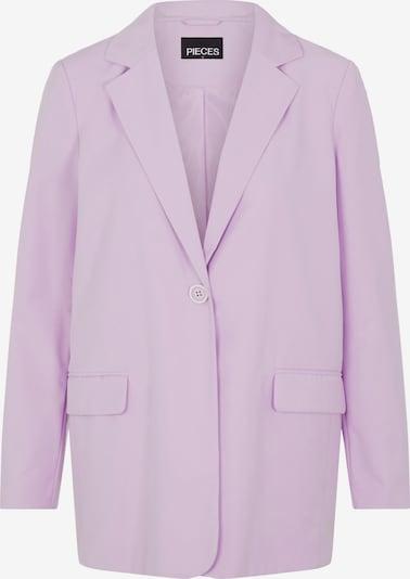 PIECES Blazer en violet pastel, Vue avec produit
