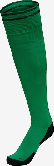 Hummel Athletic Socks in Green / Black, Item view