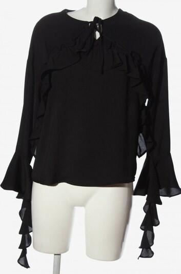 Golden Days Rüschen-Bluse in M in schwarz, Produktansicht