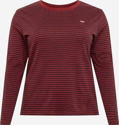 Levi's® Plus Shirt in dunkelblau / rostrot, Produktansicht