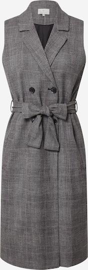 Kaffe Kleid 'Sitina' in grau / schwarz / weiß, Produktansicht