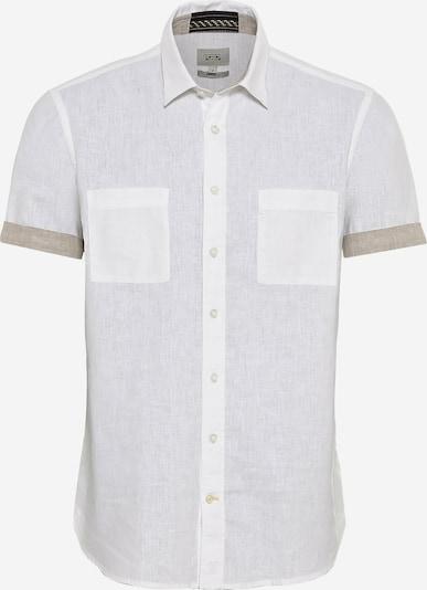 CAMEL ACTIVE Hemd in beige / weiß, Produktansicht