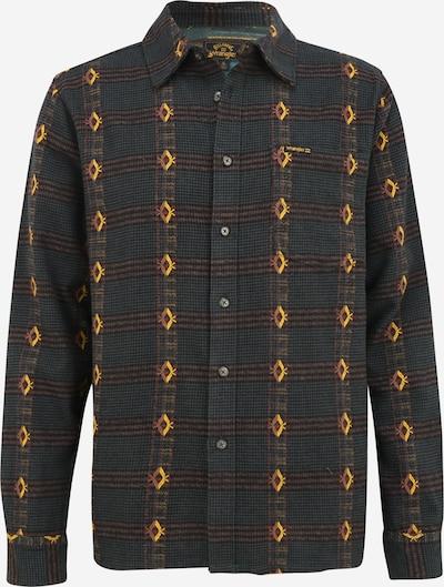 BILLABONG Button Up Shirt in Brown / Yellow / Dark green, Item view