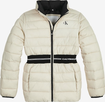 Calvin Klein Jeans Tussenjas in de kleur Zwart / Wit, Productweergave