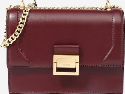 ALDO Tasche 'PENTZIA' in gold / bordeaux, Produktansicht