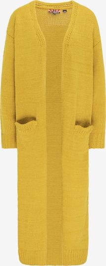 myMo ROCKS Strickmantel in gelb, Produktansicht