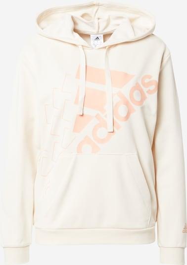 ADIDAS PERFORMANCE Sportsweatshirt in hellorange / weiß, Produktansicht