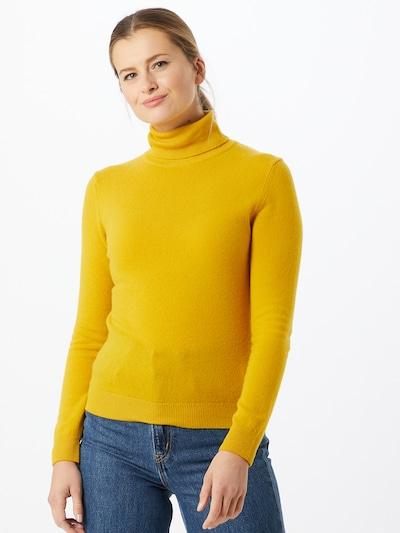 UNITED COLORS OF BENETTON Sweter w kolorze żółtym: Widok z przodu