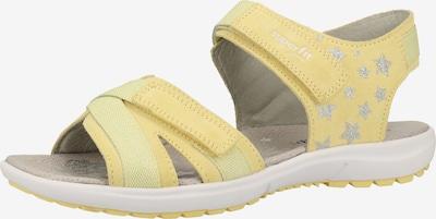 SUPERFIT Sandale in gelb, Produktansicht