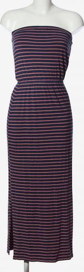 Madewell schulterfreies Kleid in XS in creme / blau / pink, Produktansicht