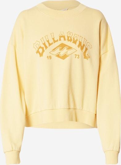 BILLABONG Sweatshirt in Light yellow / Dark yellow, Item view
