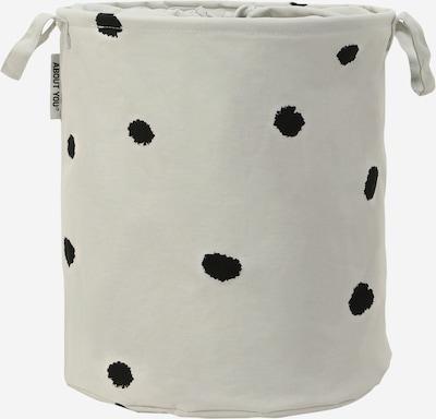 ABOUT YOU Tvättkorg 'Comfy S' i ljusgrå, Produktvy