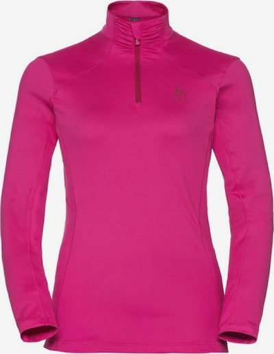 ODLO Pullover 'Midlayer 1/2 zip STEEZE' in pink, Produktansicht