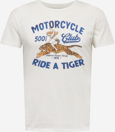 Key Largo T-Shirt in royalblau / orange / schwarz / weiß, Produktansicht