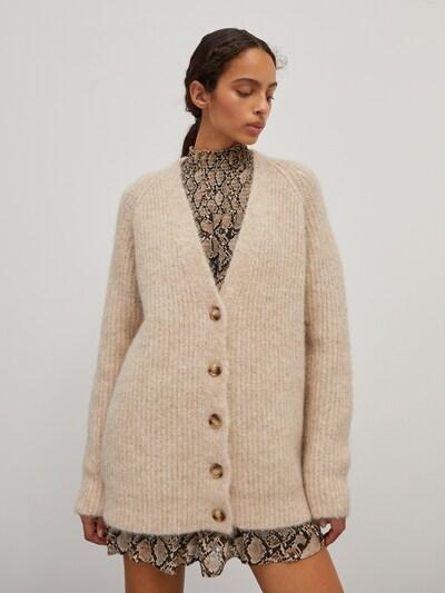 EDITED Knit Cardigan 'Eliandro' in Beige, View model