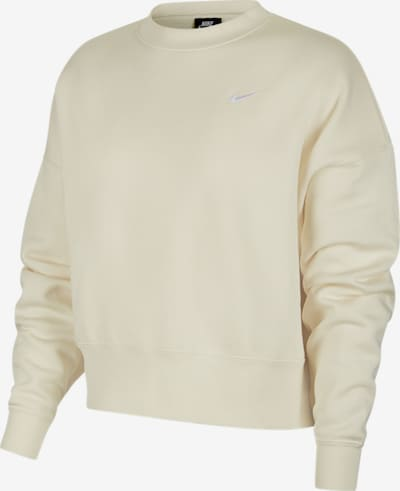 Nike Sportswear Sweatshirt in creme, Produktansicht