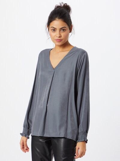 Cream Bluse 'Feng' in grau, Modelansicht