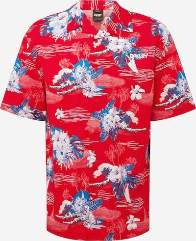 OAKLEY Funkčná košeľa - modrá / červená / biela, Produkt
