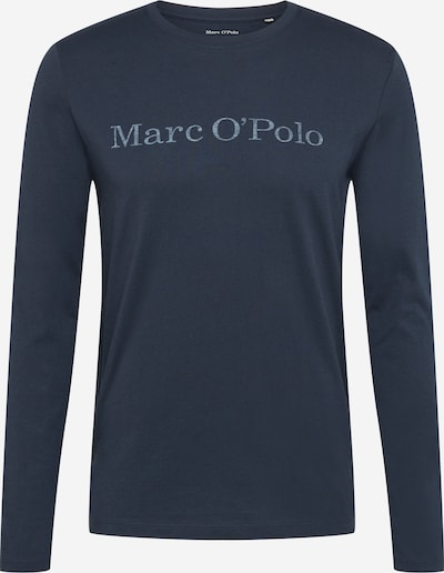 Marc O'Polo Shirt in de kleur Donkerblauw / Wit, Productweergave