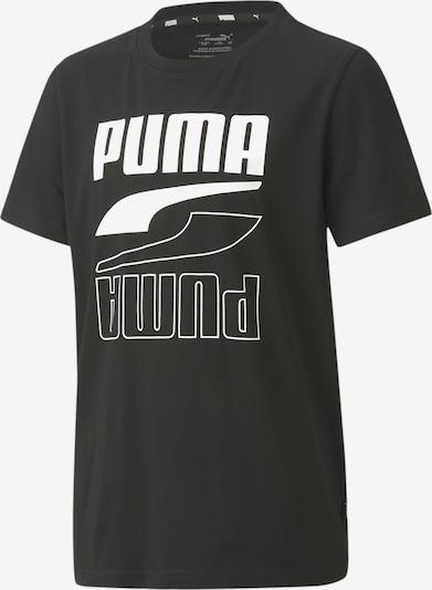 PUMA T-Shirt fonctionnel 'Rebel Bold' en noir / blanc, Vue avec produit