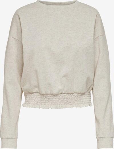 ONLY Sweat-shirt 'Ela' en beige chiné, Vue avec produit