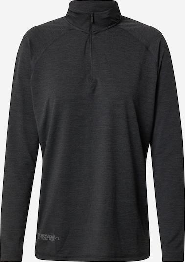 Tricou funcțional HIIT pe negru amestecat, Vizualizare produs