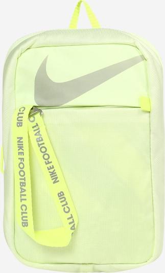 Geantă sport NIKE pe galben neon / gri, Vizualizare produs