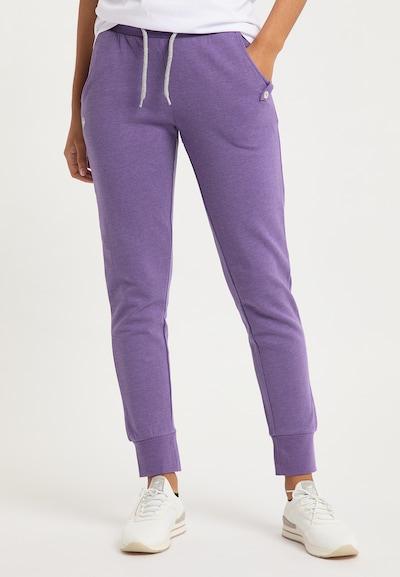 BRUNO BANANI Hose in lila, Modelansicht