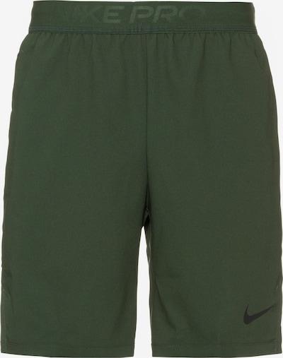 NIKE Sportshorts 'Flex Vent' in dunkelgrün / schwarz, Produktansicht