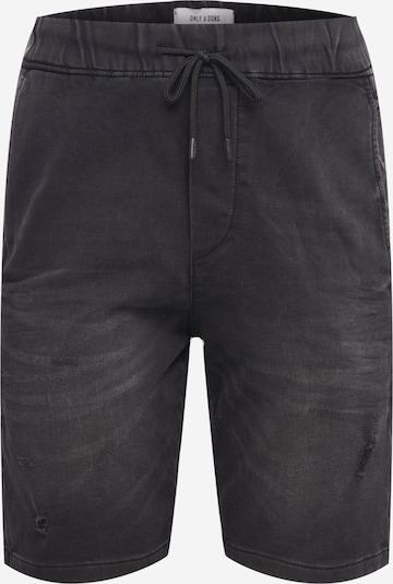 Only & Sons Pantalon 'ROD' en noir, Vue avec produit