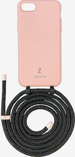 ZAPHYR Handyhülle mit Handykette 'iPhone 7/8/SE (2020)' in rosa / schwarz, Produktansicht